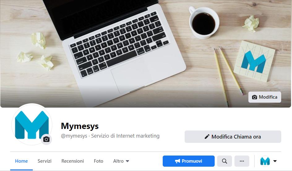 Creazione e gestione pagina Facebook Azienda - mymesys.com